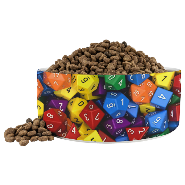 Polyhedral Dog Bowl