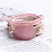 Load image into Gallery viewer, Goddess of Love Rose Quartz Bracelet