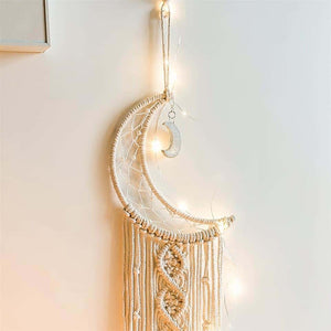 Crescent Moon Chic Dreamcatcher
