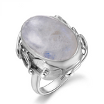 Spirit Moonstone Silver Ring