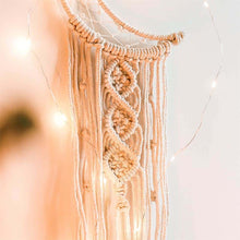 Load image into Gallery viewer, Crescent Moon Chic Dreamcatcher