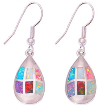 Load image into Gallery viewer, Spirit Fire Opal Earrings