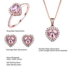 Load image into Gallery viewer, Elegant Morganite Jewelry Set
