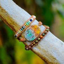 Load image into Gallery viewer, Spiritual Boho Charm Wrap Bracelet
