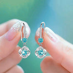 Silver Zirconia Earrings