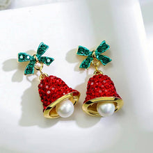 Load image into Gallery viewer, Christmas Jingle Bell Earrings