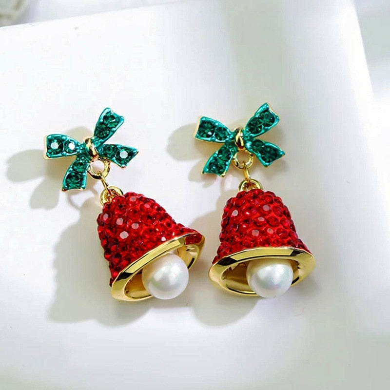 Christmas Jingle Bell Earrings