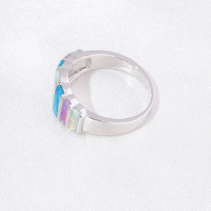 Spirit Fire Opal Ring