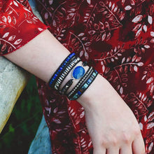 Load image into Gallery viewer, Luminous Lapis Protection Bracelet