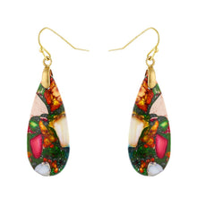 Load image into Gallery viewer, Ethnic Design Jasper Earrings