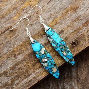 Gorgeous Ocean Jasper Earrings