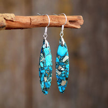 Load image into Gallery viewer, Gorgeous Ocean Jasper Earrings