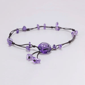 Spiritual Flower Braided Anklets