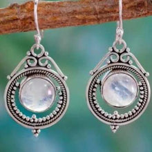 Load image into Gallery viewer, Magical Eyes Moonstone Earrings