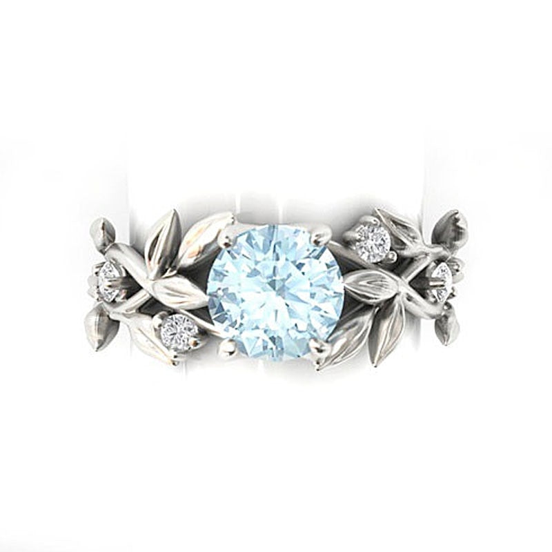 Queen of Flowers Rhinestone Ring