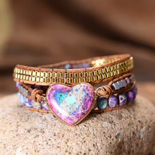 Load image into Gallery viewer, Spiritual Sparkling Wrap Bracelet