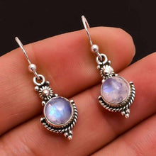 Load image into Gallery viewer, Handicraft Retro Moonstone Earrings