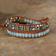 Load image into Gallery viewer, Ice Blue Amazonite Bracelet