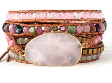 Load image into Gallery viewer, Inspired Rose Quartz Bracelet