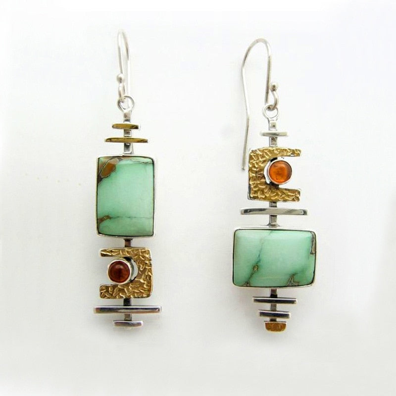 Jasper Dangle Earrings