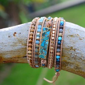 Intense Turquoise Protection Bracelet