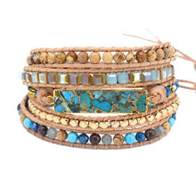 Load image into Gallery viewer, Intense Turquoise Protection Bracelet