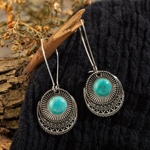 Load image into Gallery viewer, Turquoise Tide Earrings
