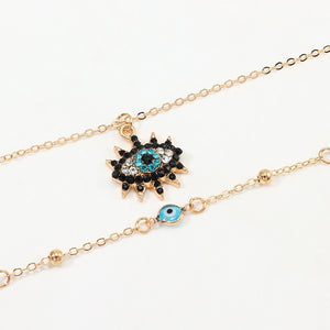 Vintage Design Evil Eye Necklace