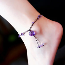 Load image into Gallery viewer, Spiritual Flower Braided Anklets