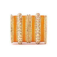 Traditional Bangles with Stone Work - Indian Wedding Bazar