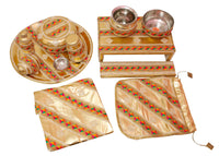 Complete 12 pieces sagan set - Indian Wedding Bazar