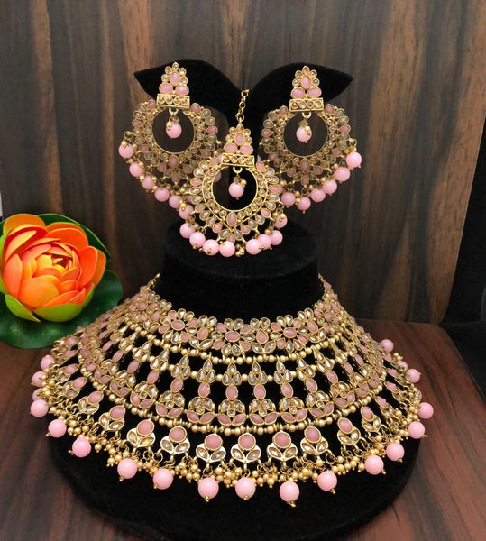Polki Bridal Set - Indian Wedding Bazar