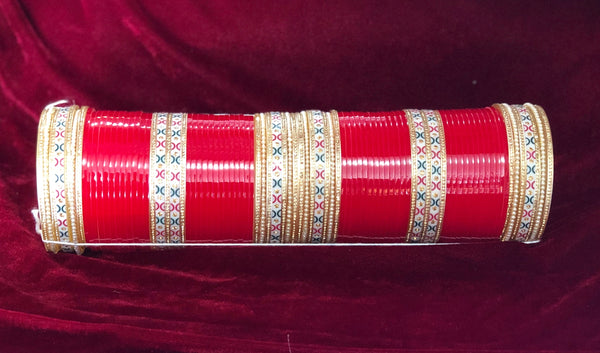 Traditional Chura in Red