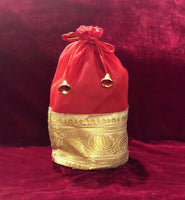 Potli bag with lace - Indian Wedding Bazar