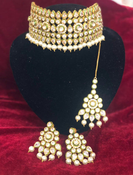 High Grade Kundan Set - Indian Wedding Bazar