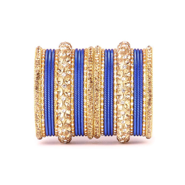 Traditional Bangles with Stone Work