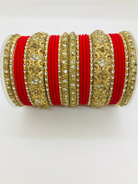 Broad kada bangle set - Indian Wedding Bazar
