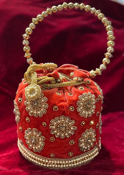 Bridal Potli Bag - Indian Wedding Bazar
