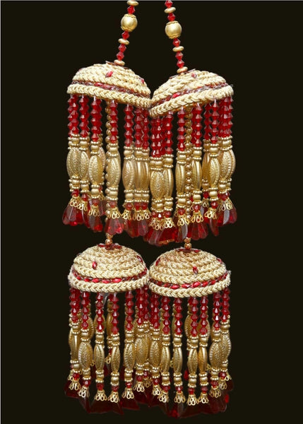 Maroon & Gold Kalire - Indian Wedding Bazar