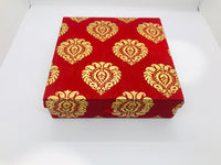 Designer Silk multi purpose box - Indian Wedding Bazar