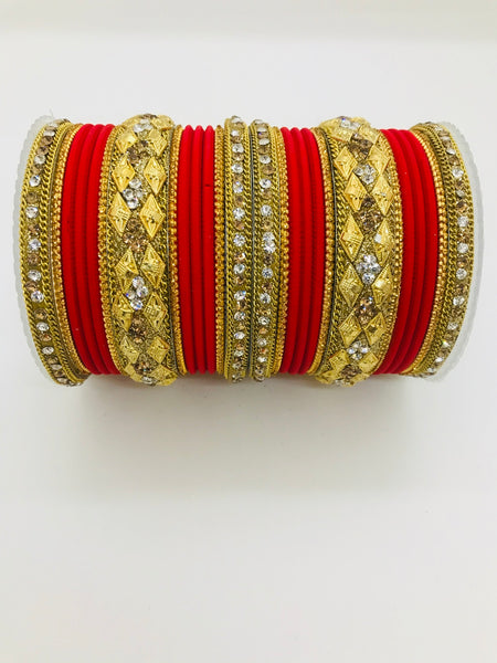 Fancy bangle set - Indian Wedding Bazar