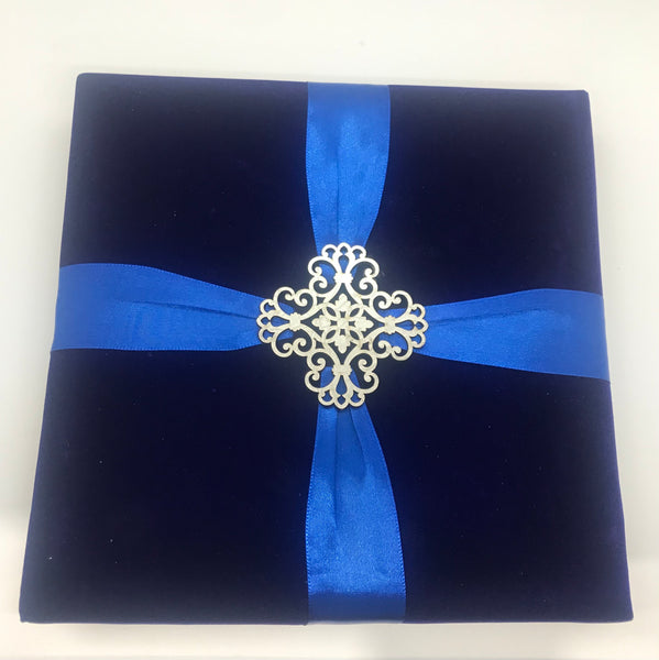 Royal blue dry fruit box