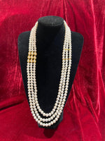 Single pendant kundan groom's mala - Indian Wedding Bazar