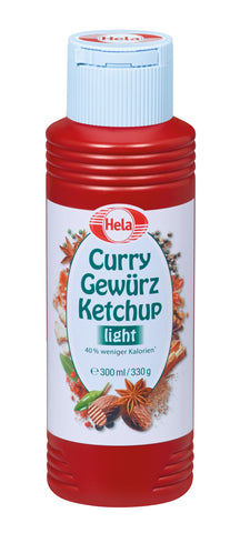 Hela Curry Ketchup Mild (Light) - 300ml