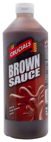 Crucials Brown Sauce 500ml