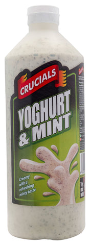 Crucials Yoghurt & Mint Squeezy Sauce 500ml Offer