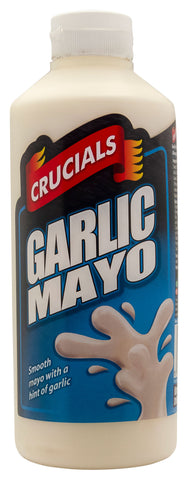 Crucials Garlic Mayonnaise Dqueezy Sauce 1ltr Offer