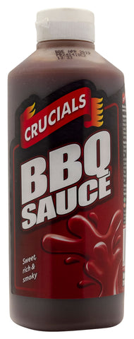 Crucials Barbeque (BBQ) Squeezy Sauce 1ltr