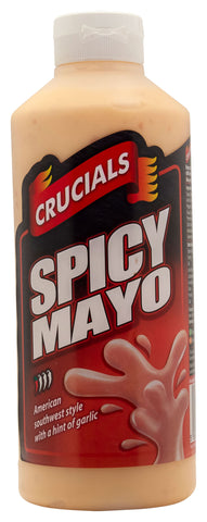Crucials Spicy Mayonnaise Squeezy Sauce 1ltr Offer