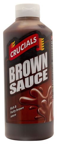 Crucials Brown Sauce 1ltr